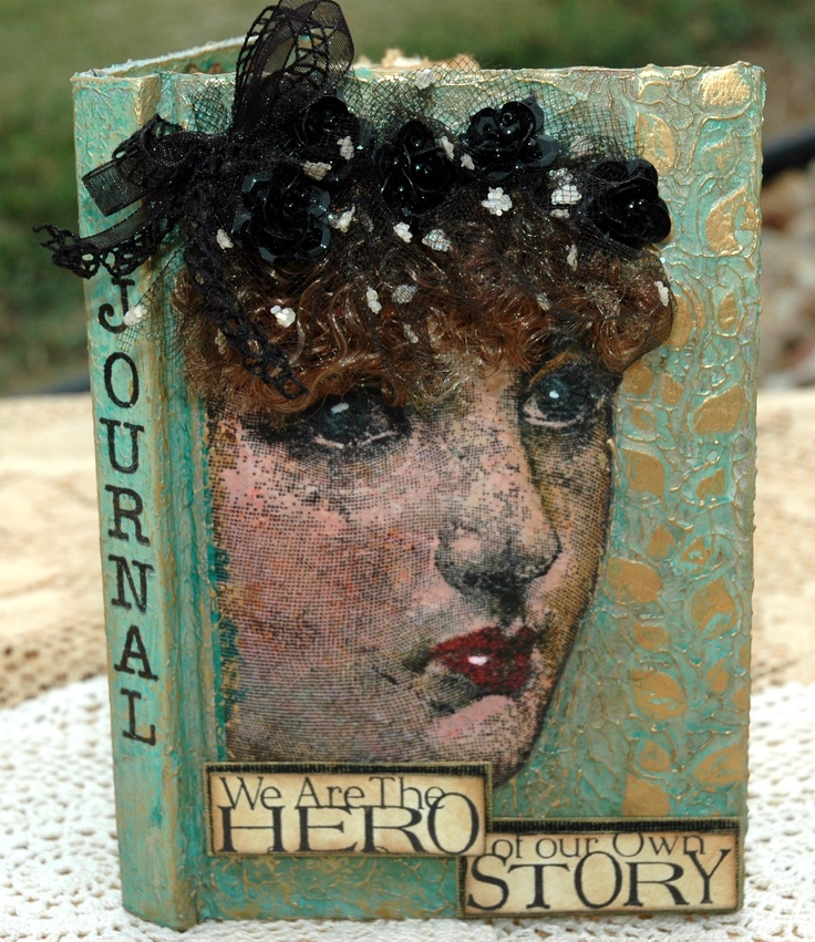 Altered Book Cover Tutorial ~ Best images about altered books on pinterest