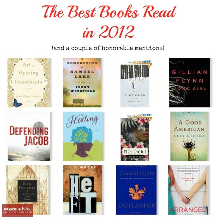 The Best Books to Read of 2012