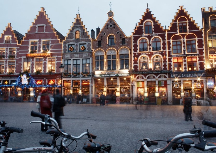 Bruges Christmas Market. To add to the atmosphere, an ice rink is built on the Bruges Market Square close to the many food and festive gift stalls, which offer traditional seasonal delights.