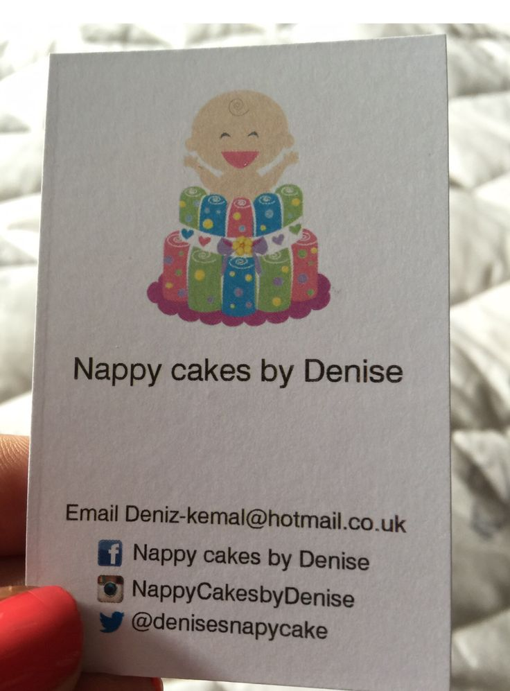 Business cards for diaper cakes gallery card design and card template business cards for diaper cakes choice image card design and card business cards for diaper cakes reheart Choice Image