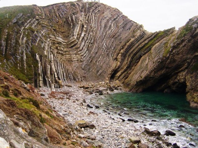 lulworth cove stair hole - Google Search