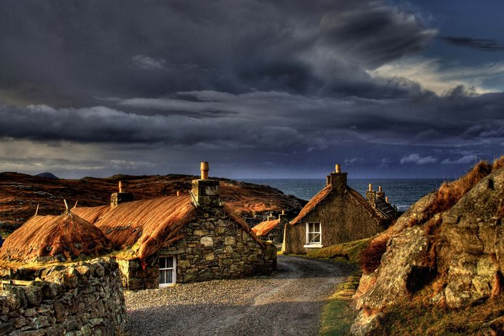 Garenin blackhouse village - Caroline Maciver
