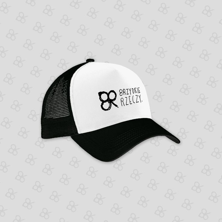 Brzydki Trucker - czapka z daszkiem unisex
