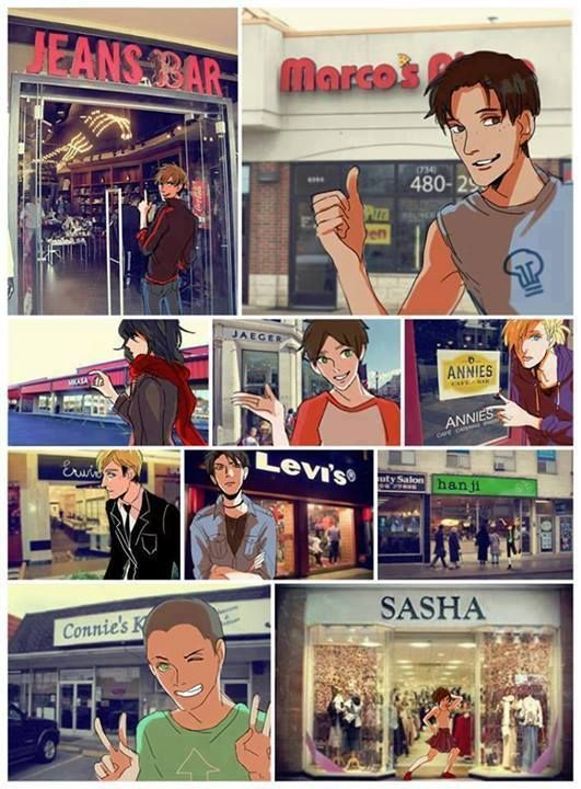 Shingeki no Kyojin. I wonder if half of Marco's sign is blocked on purpose...<<<WHO THE FUCK MADE IT OK FOR THAT