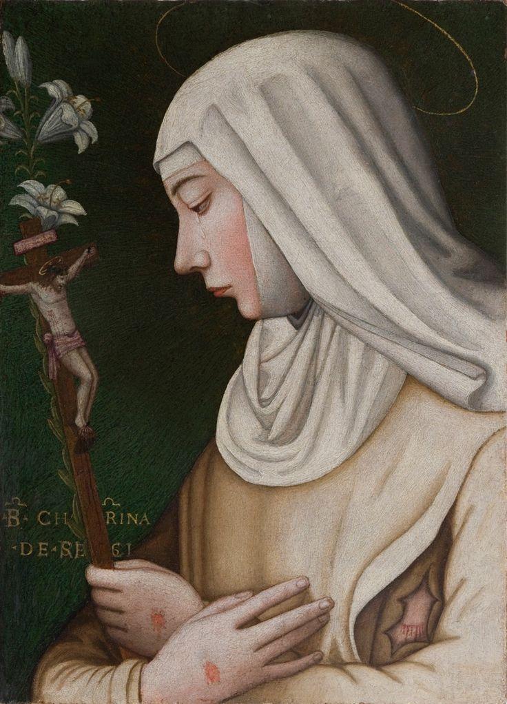 Plautilla Nelli, Santa Caterina con il giglio. Photo Dominigue Erabatti