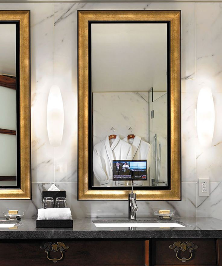 Lighted Mirror, Illuminated Mirrors And Bathroom
