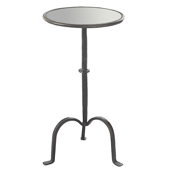 Attractive Tripod Iron Side Table