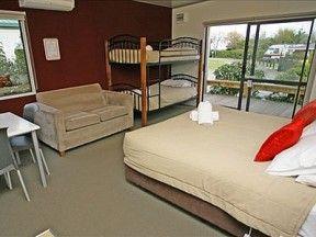Taupo Accommodation - Deluxe Standard Cabin Interior