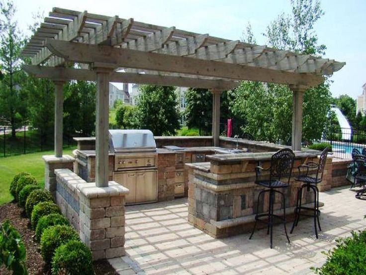 17 best ideas about modular outdoor kitchens on pinterest for Outdoor kuchen module