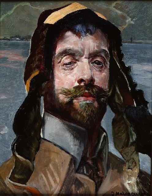 Jacek Malczewski, Self-portrait