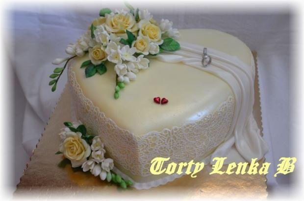 svadobne kremove , svadobné torty | Tortyodmamy.sk