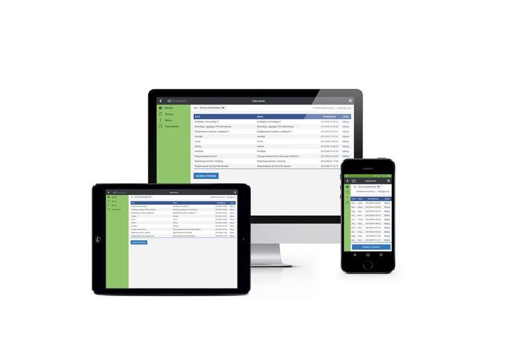 CMS - autorski system zarządzania treścią