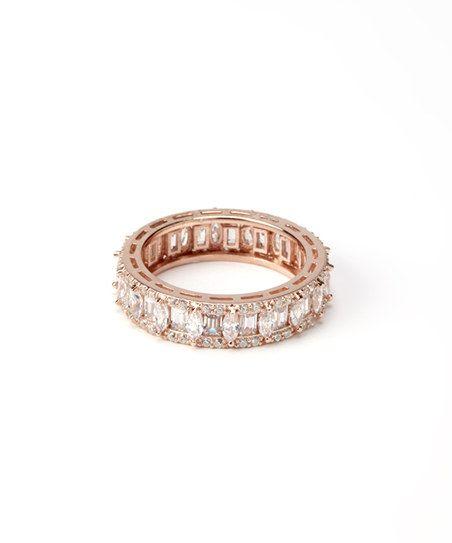 Rose Gold Fancy Eternity Ring