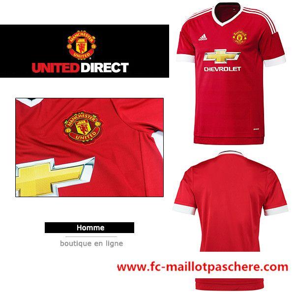 maillot Manchester United 2015-16 domicile en ligne
