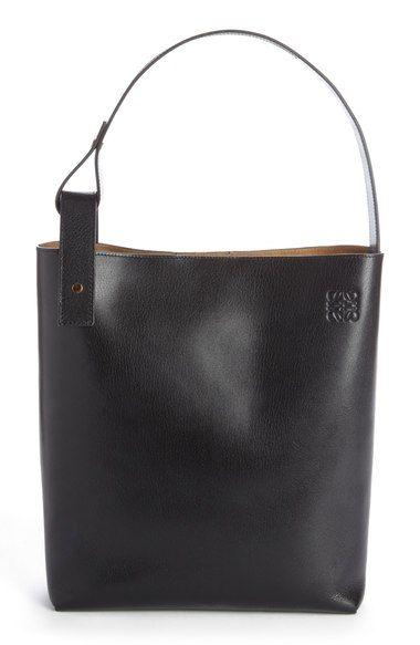 Loewe 'Medium Asymmetrical' Goatskin Leather Hobo Bag available at #Nordstrom