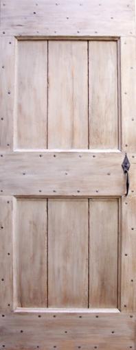 Porte cochonnier Simple et authentique. Portes intérieures Portes rustiques.