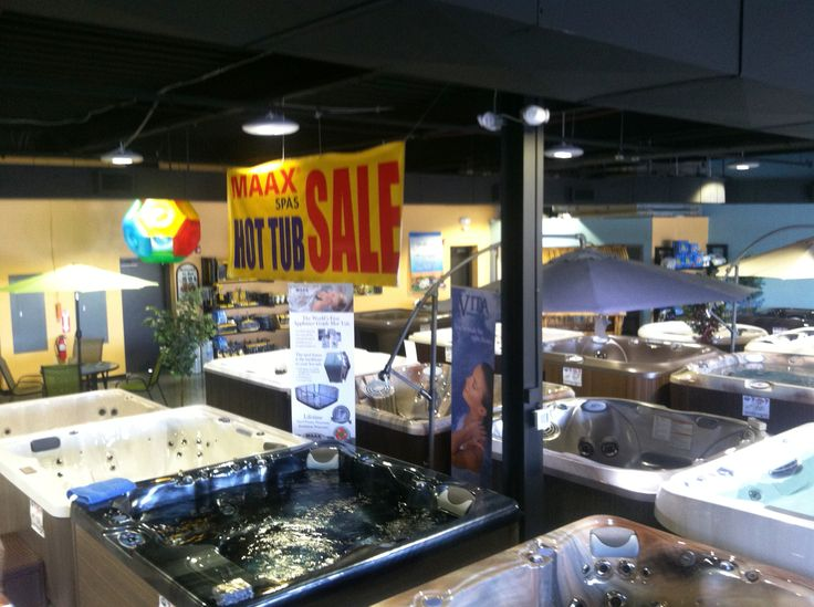 Backyard Leisure of Concord is starting off with a huge sale on their most industrial hot tubs MAAX spas. See how their thermo-lock insulation makes these spas incredibly energy efficient at http://spapoolbilliards.com/maax-collection-spas