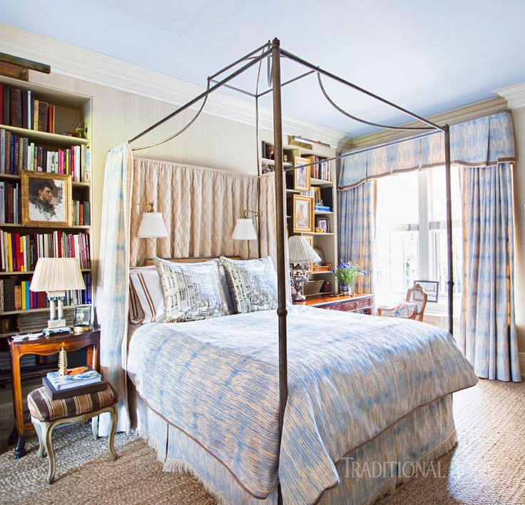 Elegant new york city apartment fabric decorbedroom sanctuarybed coverscity apartmentsbeautiful