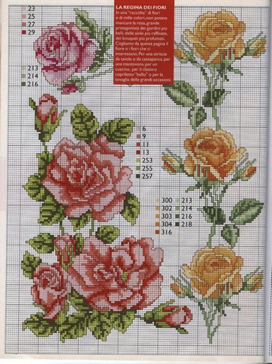 Rose borders   Gallery.ru / Фото #20 - 112 - mila29
