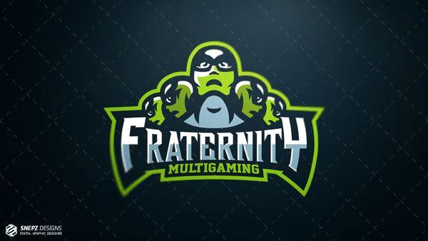 Разработан логотип для кибер спортивной команды- Fraternity