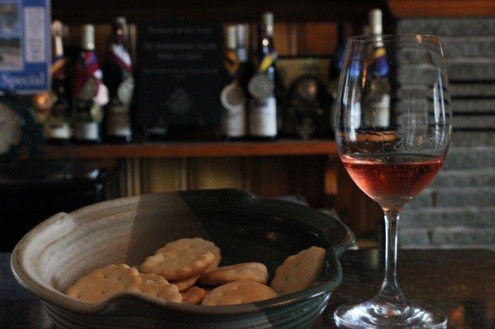 Dry Rose Wine, as sampled at Dr. Konstantin Frank Vinifera, Hammondsport, NY.