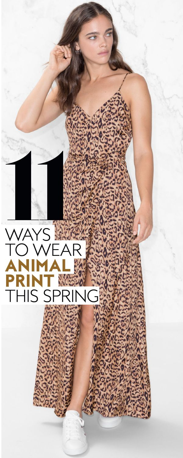 The classic print will never go out of style. #animalprint #springtrends #classictrends #outfitideas