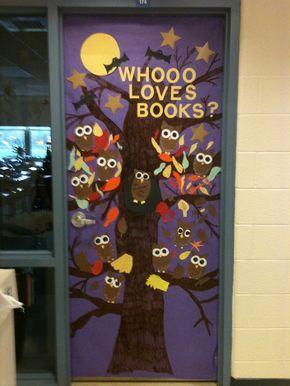 Classroom Door Decorations | Squish Preschool Ideas: Owl Theme Classroom