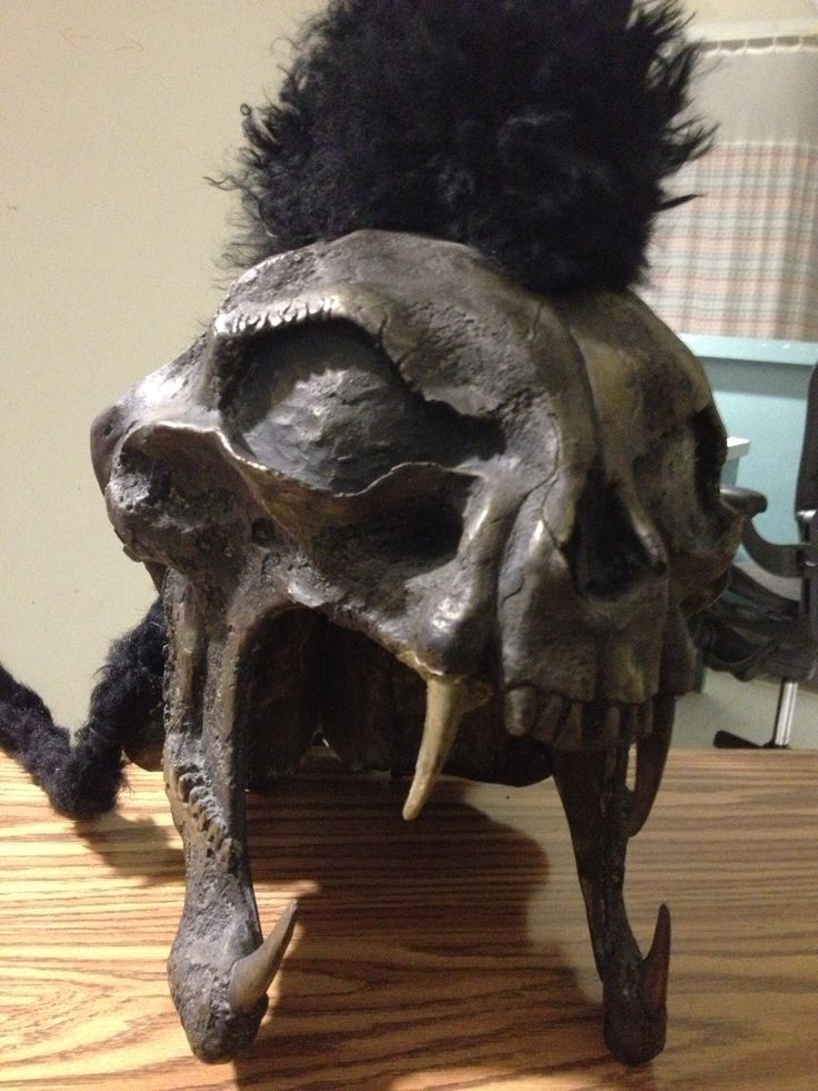 """Kurgan's Helmet from Highlander (1996).. for when you want your headgear to say """"bad@$$!!!"""""""