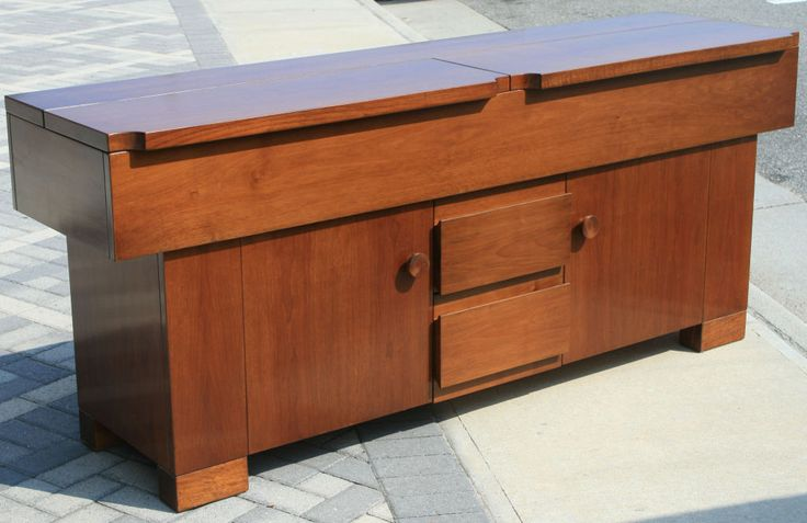 """""""Torbecchia"""" Credenza by Giovanni Michelucci   From a unique collection of antique and modern sideboards at https://www.1stdibs.com/furniture/storage-case-pieces/sideboards/"""