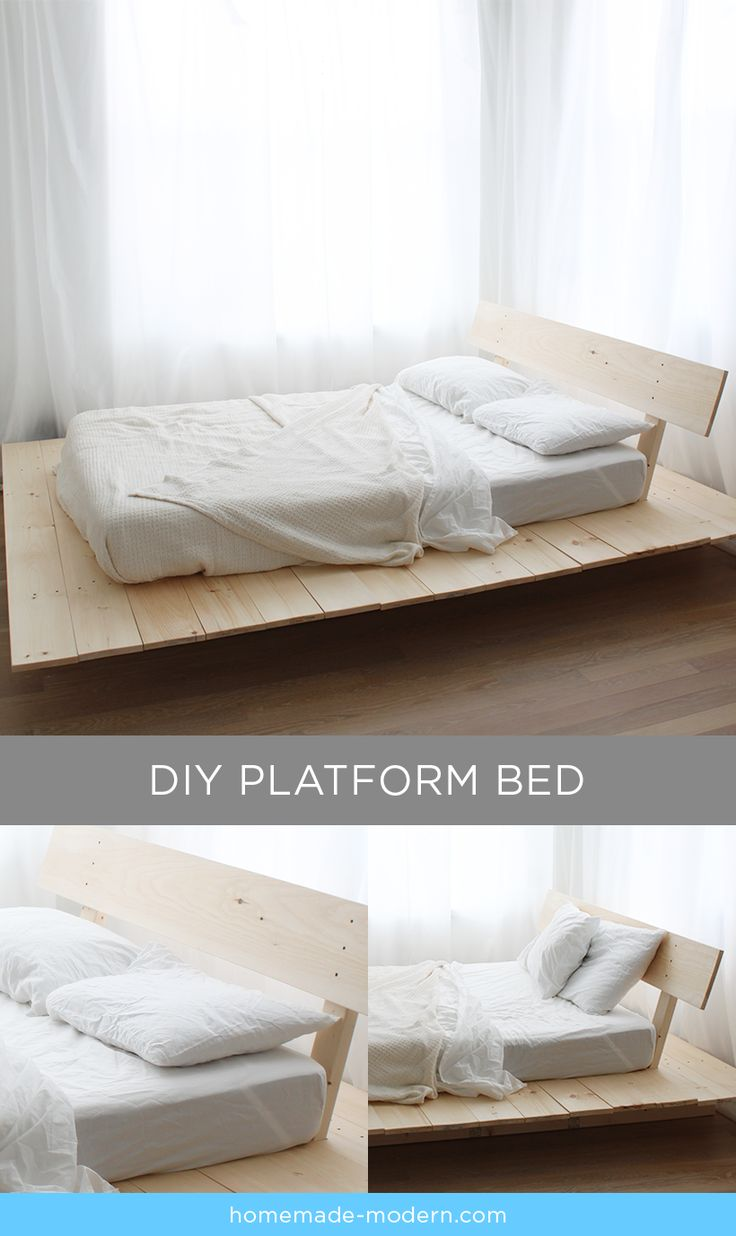 Full Size Storage Beds Extra Tall Diy Projects: 25+ Best Diy Platform Bed Trending Ideas On Pinterest