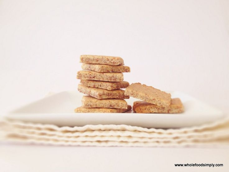 Quick Crackers.  Quick, easy and delicious!  Free from gluten, grains, dairy and refined sugar.  Enjoy!