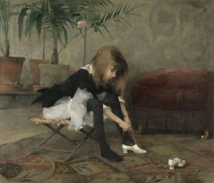 Mujeres Pintoras: Helena Schjerfbeck » Trianarts