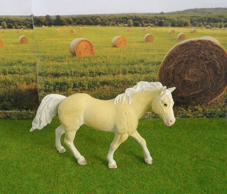 Ebay kaufen Repaint Repainted Palomino Haflinger Quarter Horse Hengst Pferd in Spielzeug, Spielfiguren, Tiere | eBay
