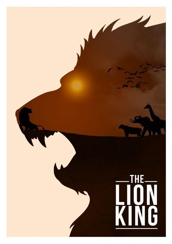 #Leão * #Lion ♡ * Remakes de Cartazes do Filme O Rei Leão *