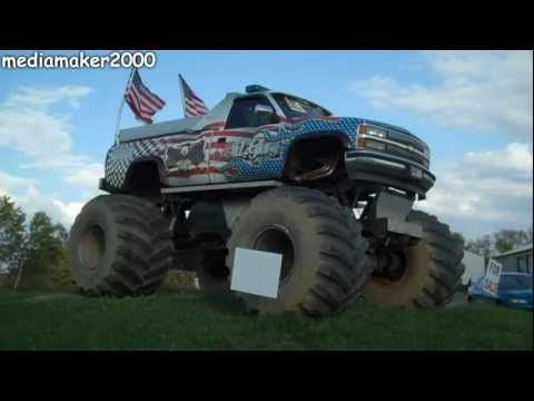 Monster Truck For Sale!!!    I was driving along one day and saw an honest to goodness monster truck for sale. The ones that people pay to go see crush cars in stadiums and at fairs. Well, this is something you don't see everyday so I had to get it on video. And it's still for sale! LOL    Thanks for watching!