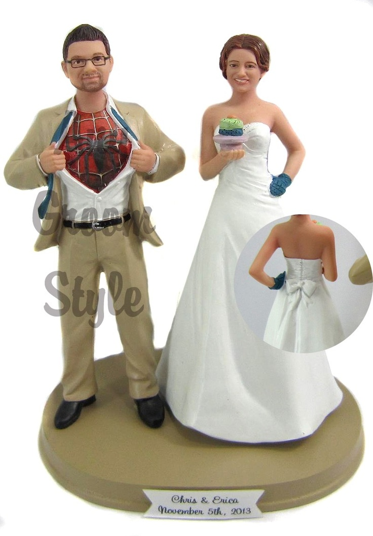191 best Cake Toppers images on Pinterest Wedding cake toppers