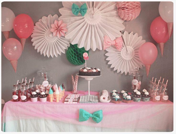 baby shower fille : des idées de buffets de princesses I club mamans