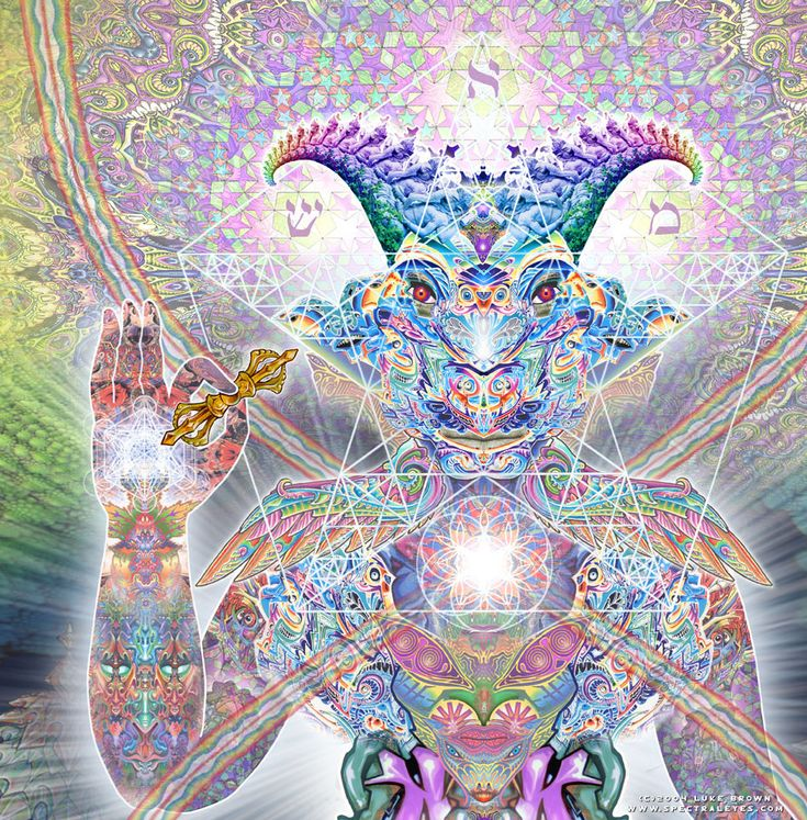 """Machine elves (also known as fractal elves, self-transforming machine elves) is a term coined by the late ethnobotanist, writer and philosopher Terence McKenna to describe the apparent entities (described as """"elves"""") that have been reported by users of dimethyltryptamine.[1] References to such encounters can be found in many cultures ranging from shamanic traditions of native Americans to indigenous Australians and African tribes, as well as among western users of these substances.[2]"""