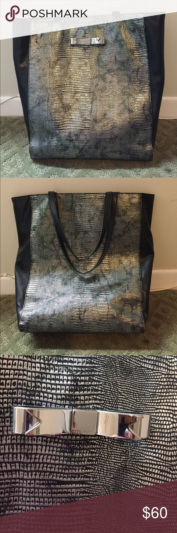 Ted Baker tote Black/grey/silver tote Ted Baker London Bags Totes