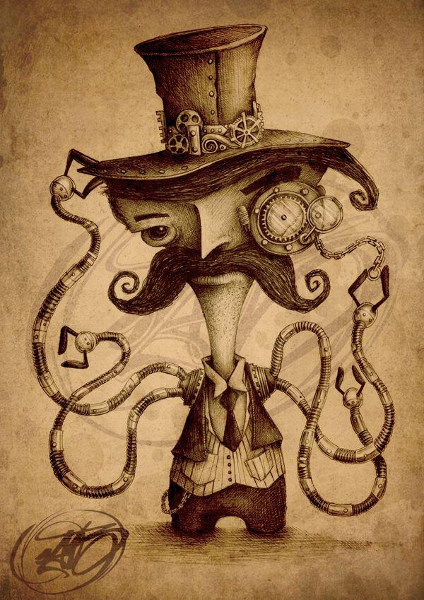 Steampunk Tendencies | Paride Bertolin (JAB)