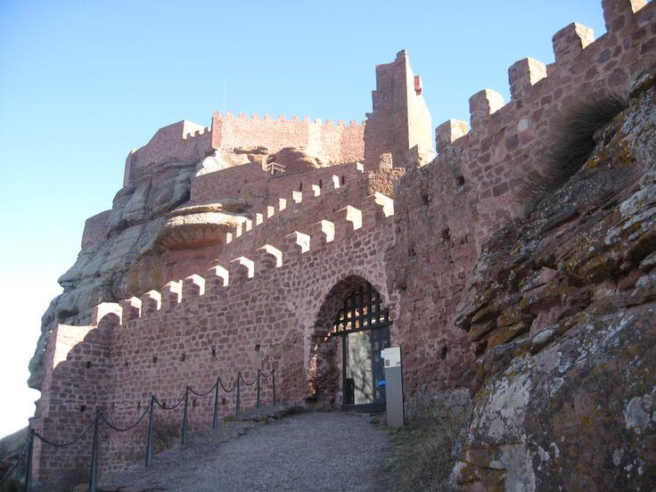 CASTLES OF SPAIN - Castle of Peracense. The Castle of Peracense is a castle in Aragon, northern Spain. The location was occupied since the late Bronze Age, and was later reused during the Moorish domination of Spain, in the 10th and 11th centuries. During the late Middle Age its strategical importance rose, due to its position between the Kingdom of Castile and the Kingdom of Aragon.