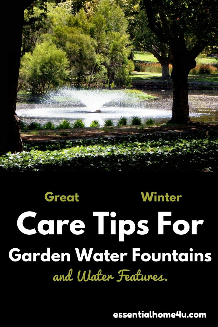 Winter Care Tips for Garden Water Fountains and Water Features need care and maintence throughout winter. Find excellent advice,tips and hints here