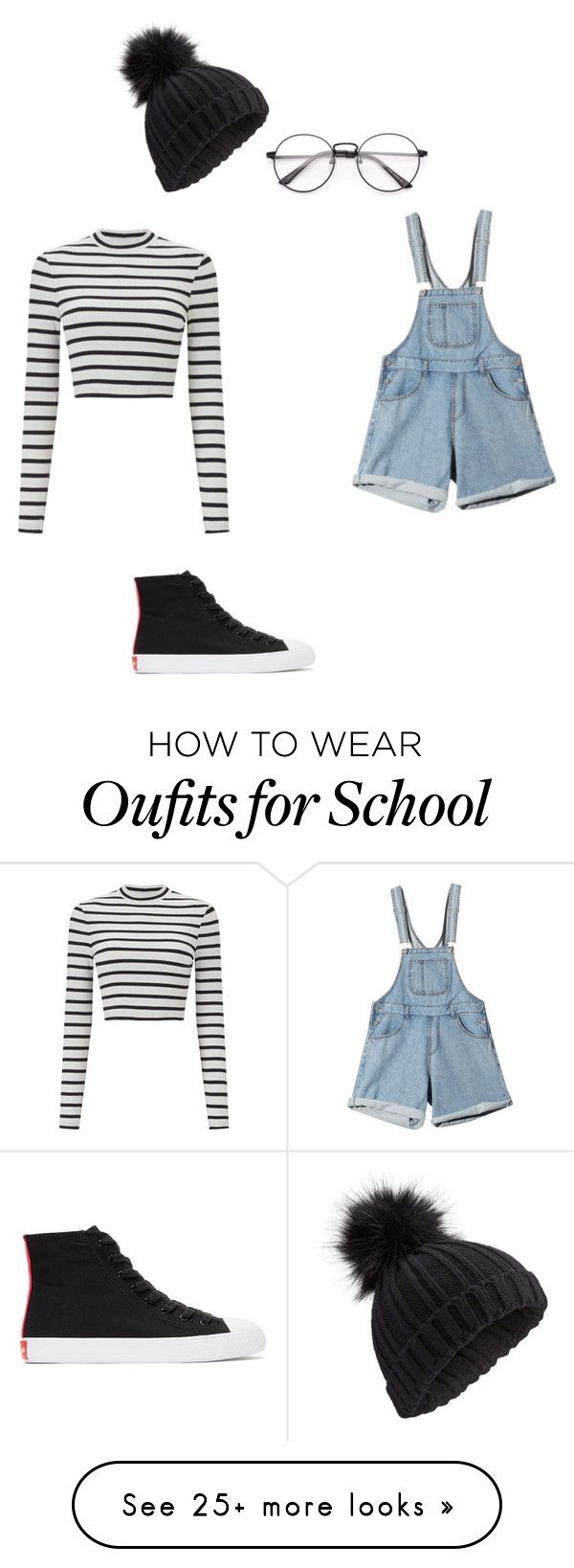 """""""School outfit #27"""" by thisisnotjs on Polyvore featuring Miss Selfridge and Calvin Klein 205W39NYC"""