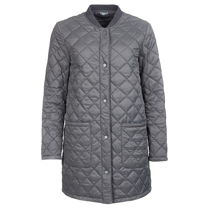 Women's Barbour Summer Border Quilted Jacket - Navy