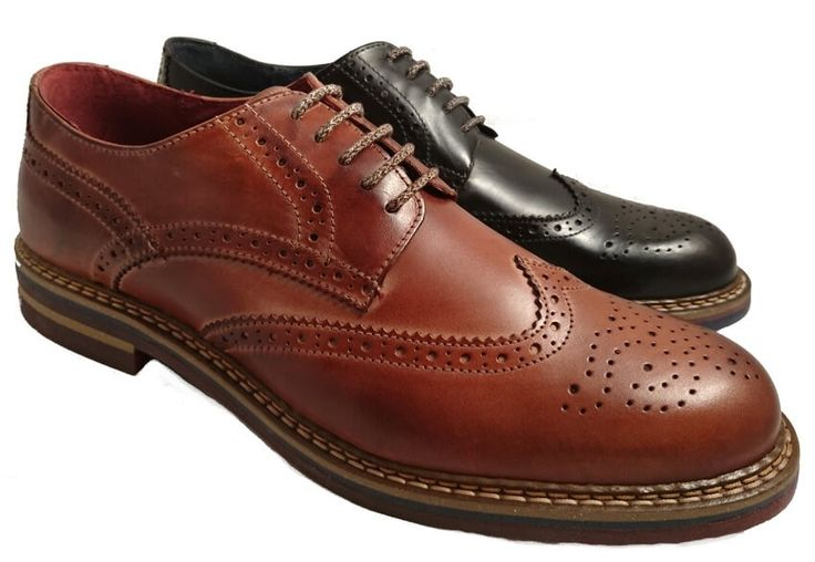 Made in Italy wingtip shoes for men, by Nicola Benson by Nicola Benson. Buy it 52,00 €