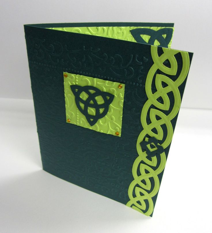 Spellbinders St. Patrick's Day Card