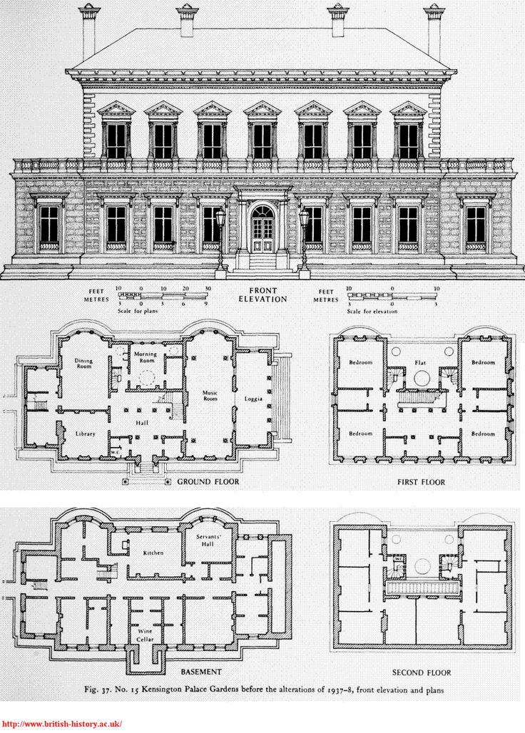 64 best royalty kensington palace images on pinterest for Palace plan