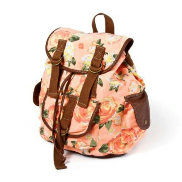 Floral Backpack Purse | Crazy Backpacks