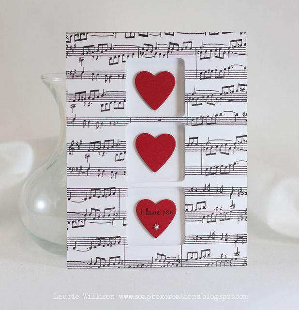 25 best ideas about Valentine music – Musical Valentines Cards