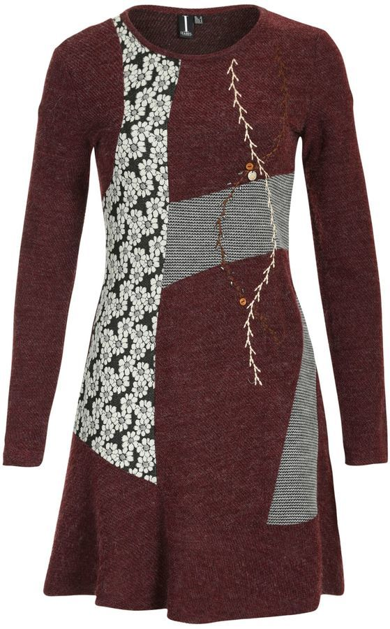 Moschino Cheap and Chic Patchwork lace dress - Moschino
